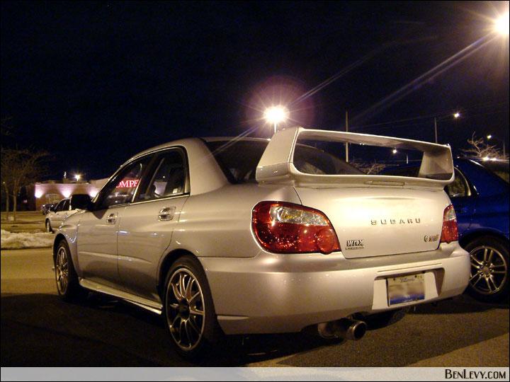Silver Subaru Wrx Sti Benlevy Com