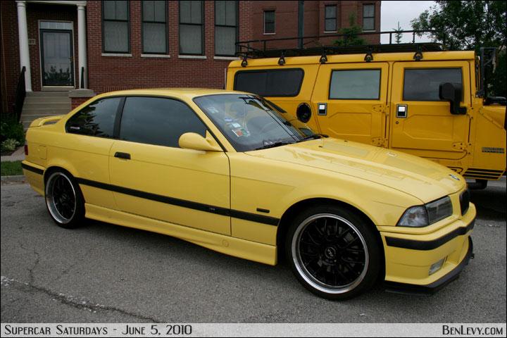 Yellow E46 BMW M3 - BenLevy.com