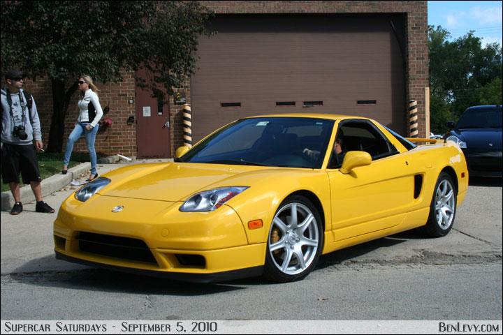 Yellow Acura Nsx Benlevy Com
