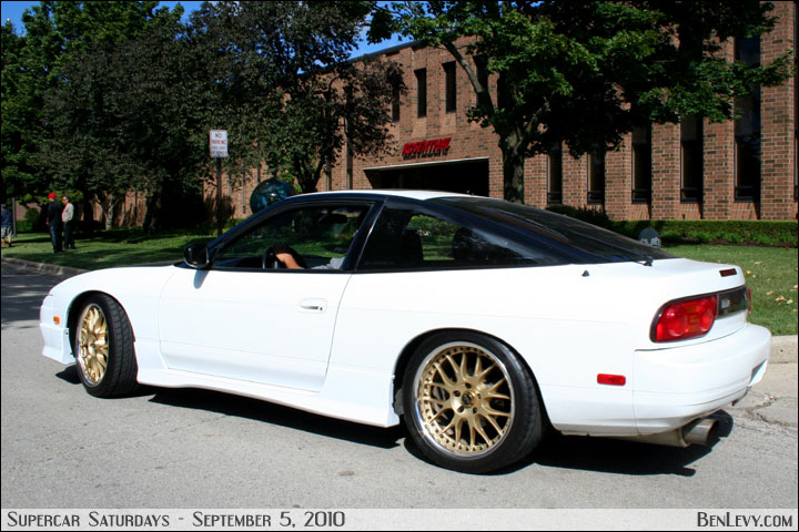 White Mercedes Benz >> White 240SX with gold wheels - BenLevy.com