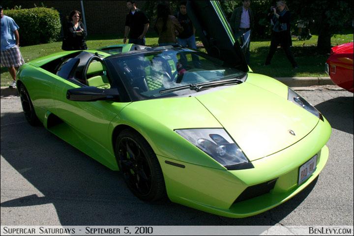 Lime Green Lamborghini Murciélago - BenLevy.com