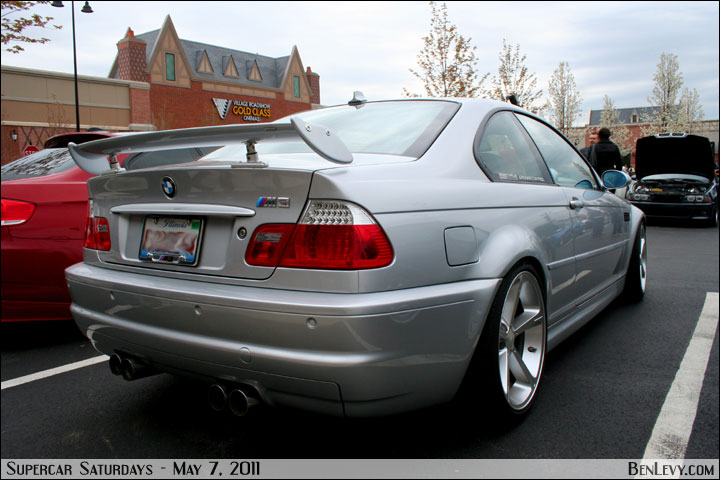 E BMW M With AC Schnitzer Spoiler BenLevycom - Ac schnitzer spoiler