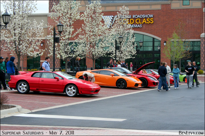 Supercar Saturdays At The Arboretum Of South Barrington