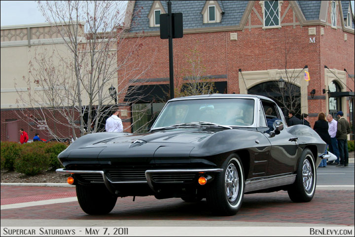 Black Split-Window Corvette