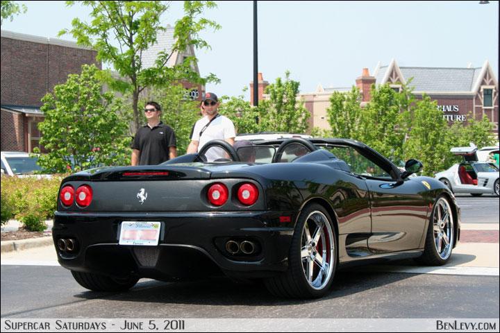 Ferrari 360 Spider Rear Benlevy Com