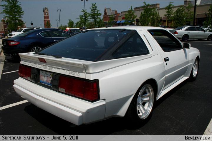 White Mitsubishi Starion Benlevy Com