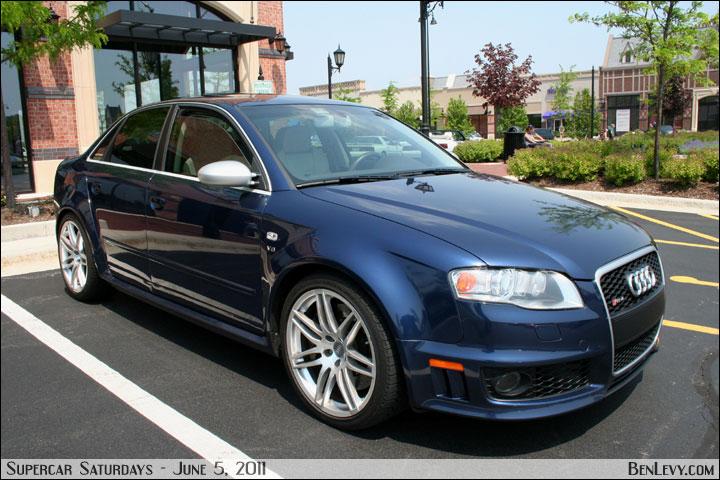 Blue Audi Rs4 Benlevy Com