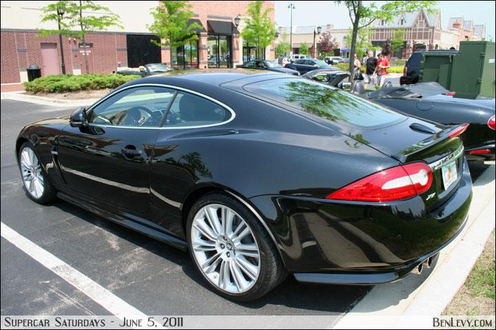 Jaguar Xkr In Ultimate Black Metallic Benlevy Com