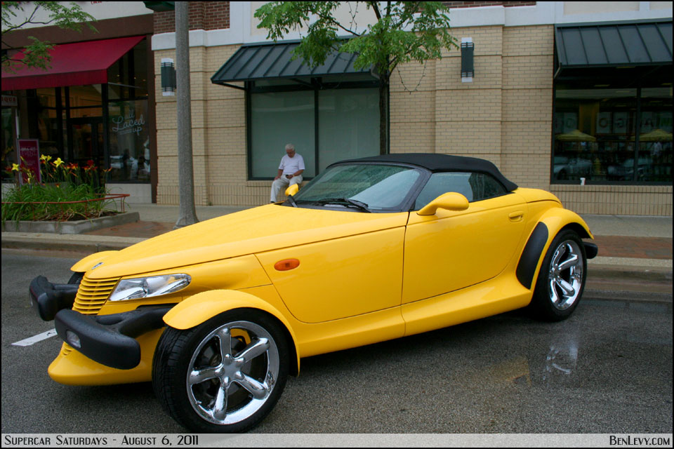 Yellow Plymouth Prowler - BenLevy.com