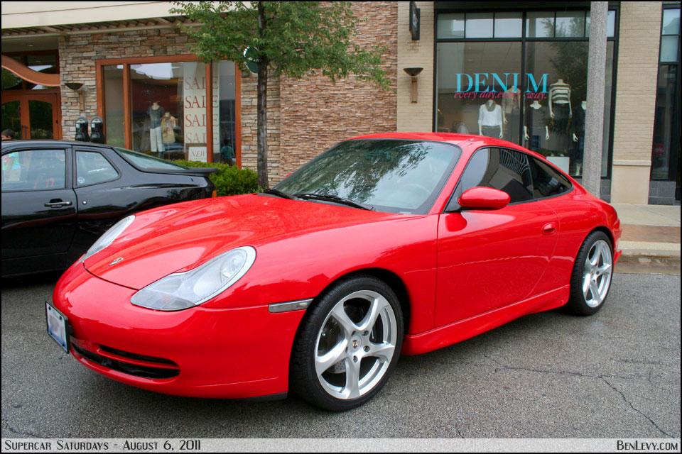 Red Porsche 911 Carrera Benlevy Com