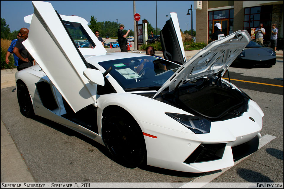 Lamborghini Aventador With Doors And Hood Open Benlevy Com