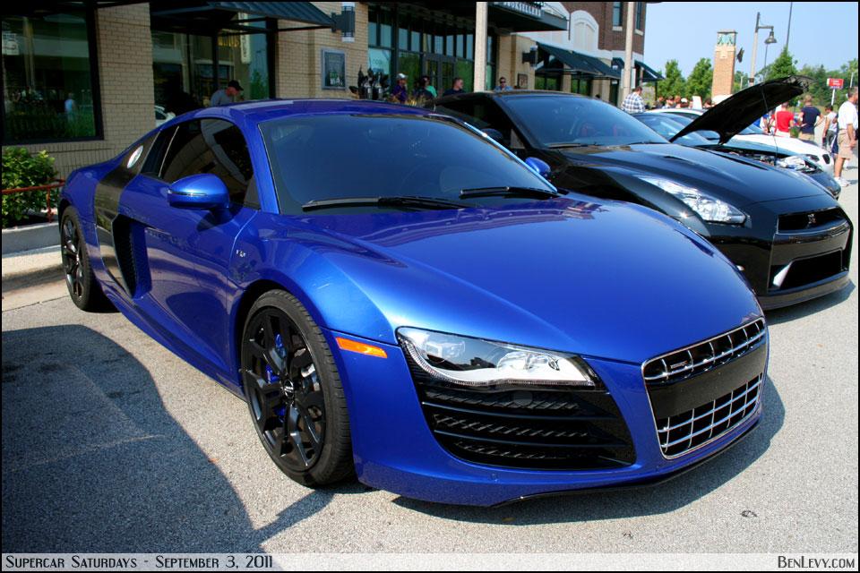 Sepang Blue Pearl Effect Audi R8 V10 Benlevy Com
