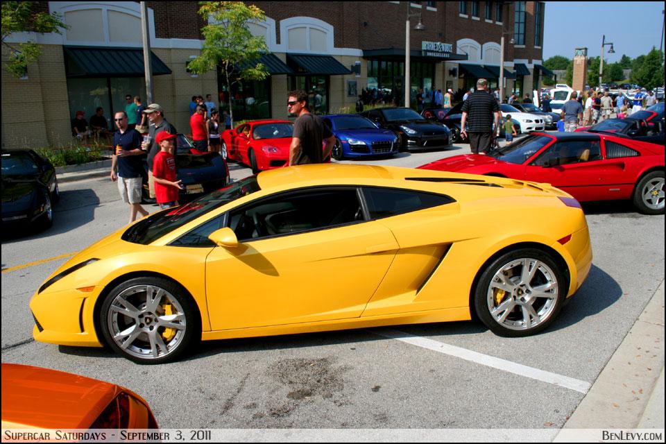 Yellow Lamborghini Gallardo Benlevy Com