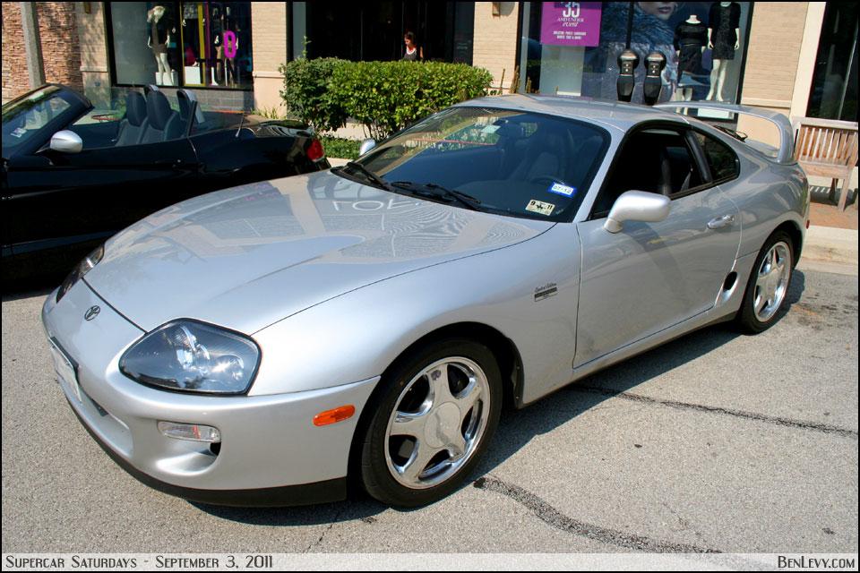 Silver Toyota Supra Benlevy Com