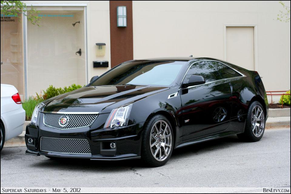 Black Cadillac CTS-V - BenLevy.com