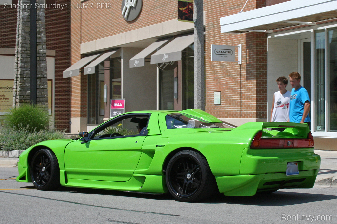 Lime Green Acura Nsx Benlevy Com