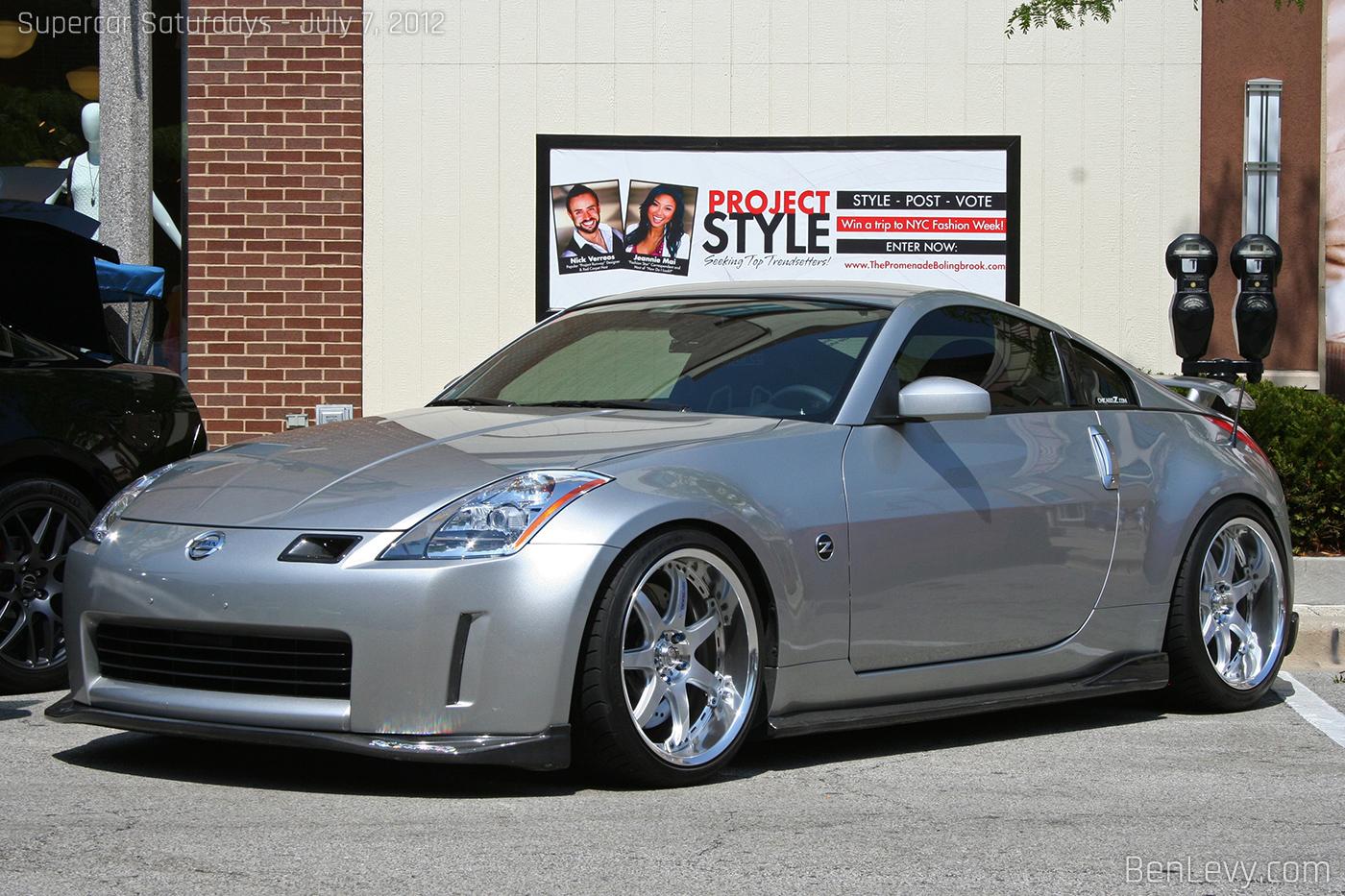 Silver Nissan 350z Benlevy Com