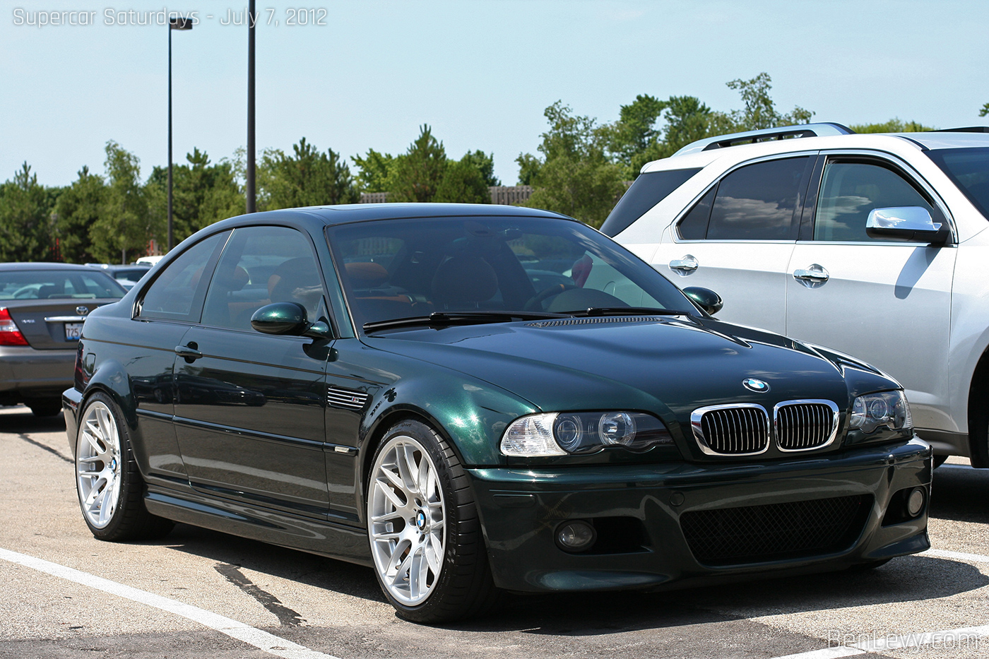 bmw m3 coupe green - photo #41