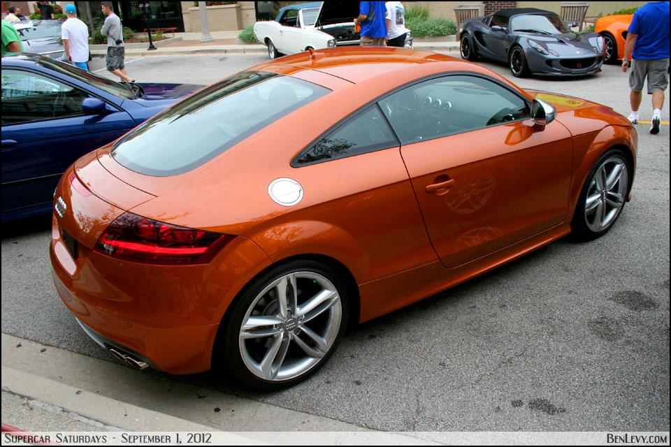 Toyota Of Orange >> Audi TTS in Samoa Orange metallic - BenLevy.com
