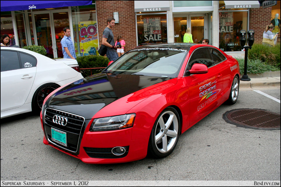 Red Audi A5 BenLevy