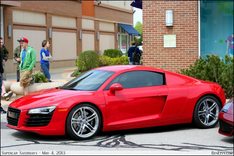 Red Audi R8 Benlevy Com