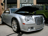Silver Chrysler 300 SRT-8