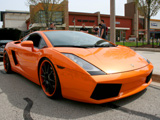 Orange Lamborghini Gallardo