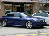 E60 BMW M5 in Interlagos Blue