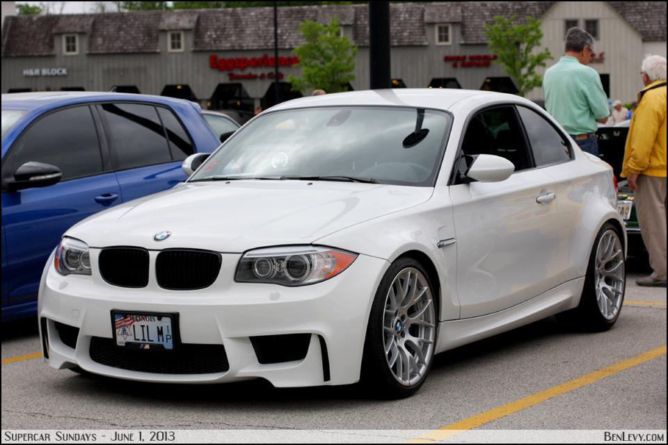White BMW 1M Coupe - BenLevy.com
