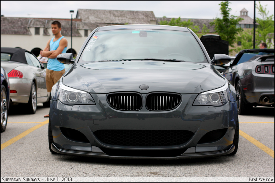 Bmw M5 E60 | Short Hairstyle 2013