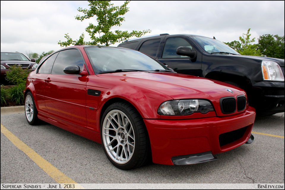 Red E46 M3 - BenLevy.com