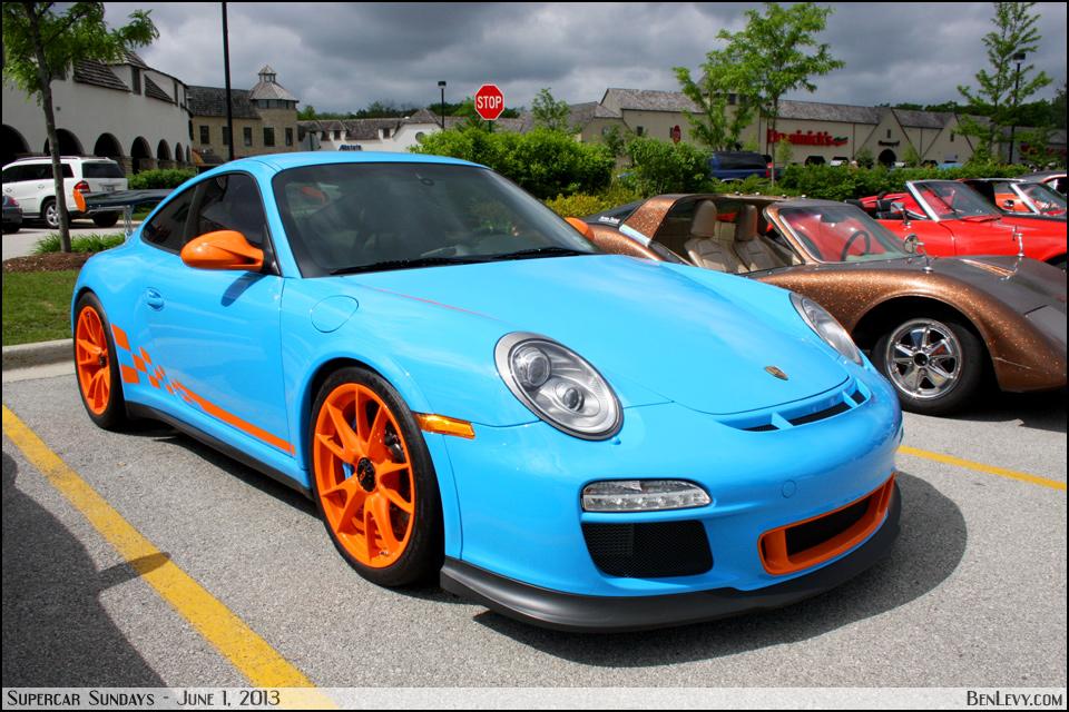 blue porsche 911 gt3 rs   benlevy