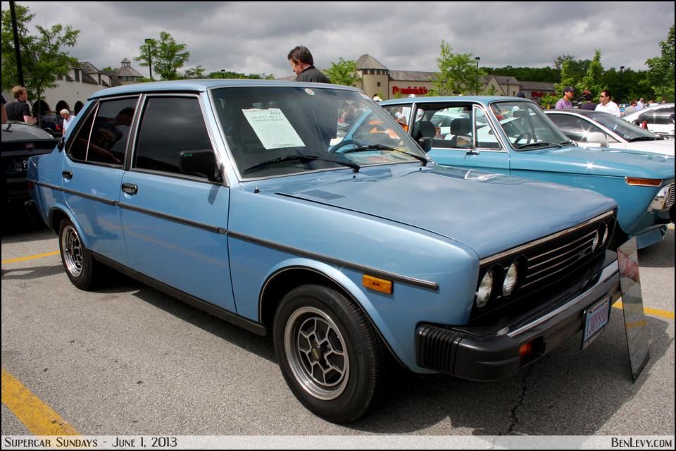 1981 Fiat Brava Benlevy Com