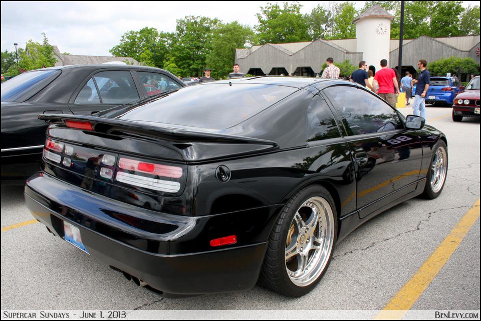 Black Nissan 300zx Benlevy Com
