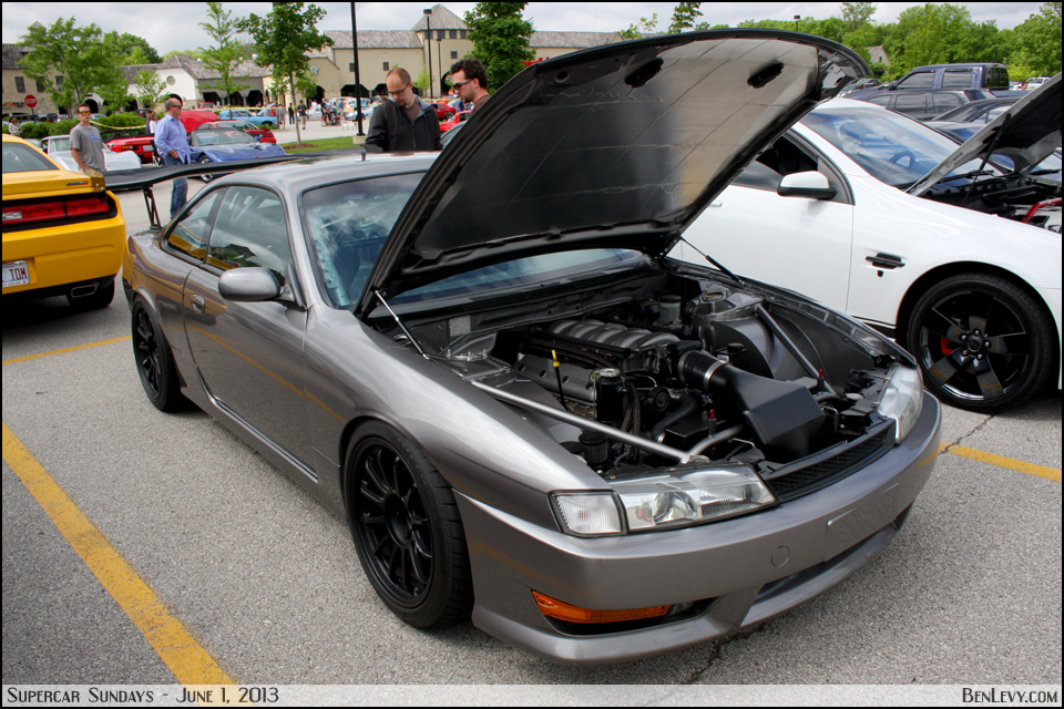 V8 Powered Nissan 240sx Benlevy Com