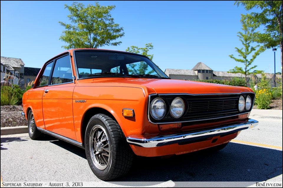 Orange Datsun 510 - BenLevy.com