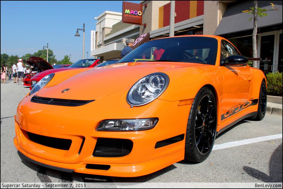 Orange Porsche 911 Gt3 Rs Benlevy Com