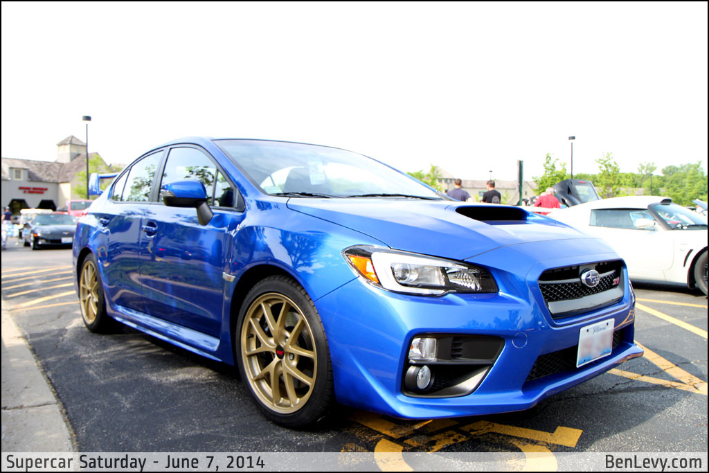 wr blue pearl 2014 subaru impreza wrx sti. Black Bedroom Furniture Sets. Home Design Ideas