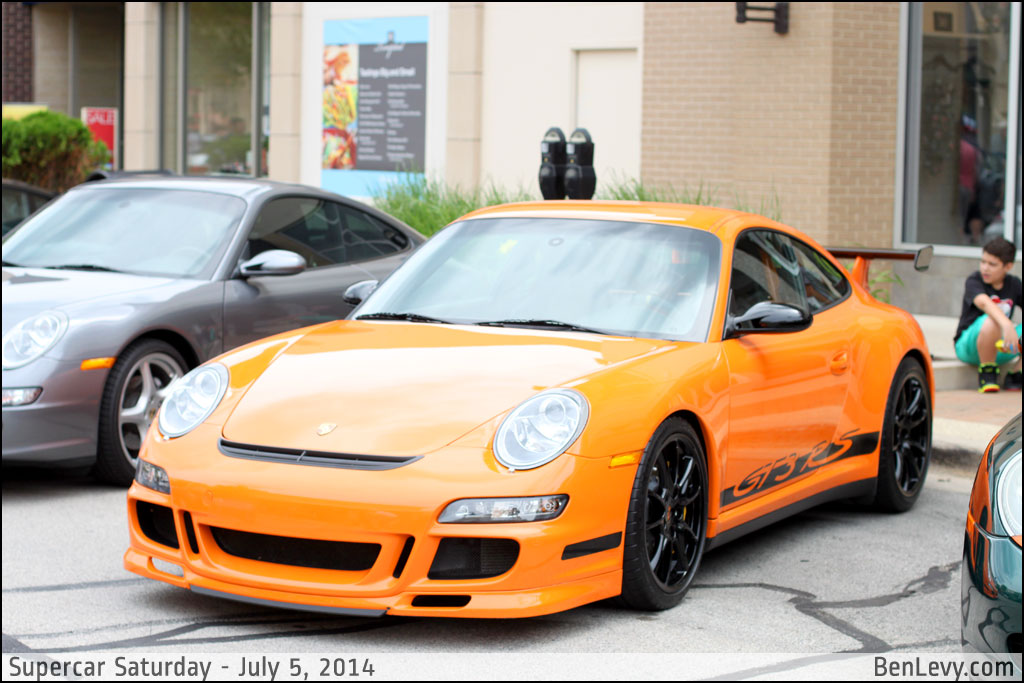 Orange Porsche 911 Gt3 Rs Benlevy Com