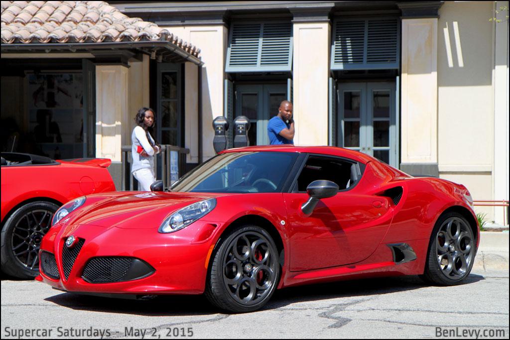Red Alfa Romeo 4c Benlevy Com