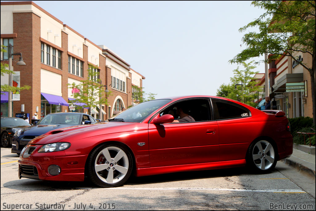 Red Pontiac Gto Benlevy Com