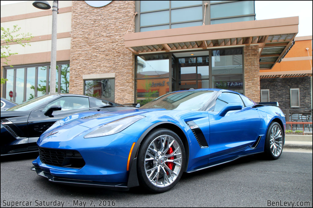 Blue C7 Corvette Z06 - BenLevy.com