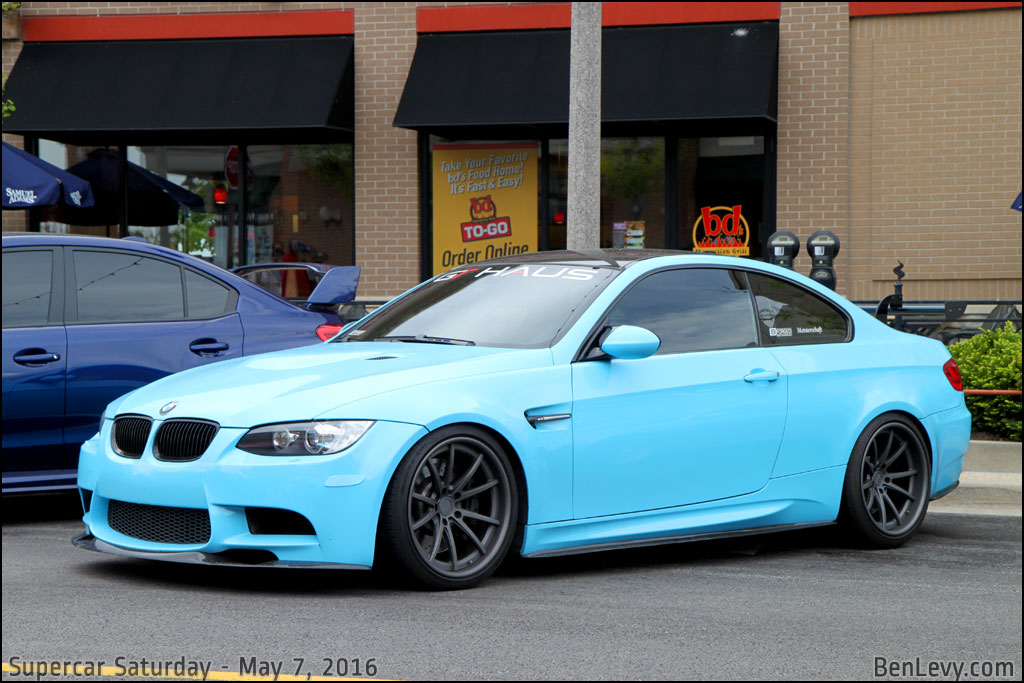 Baby Blue Bmw M3 Coupe Benlevy Com