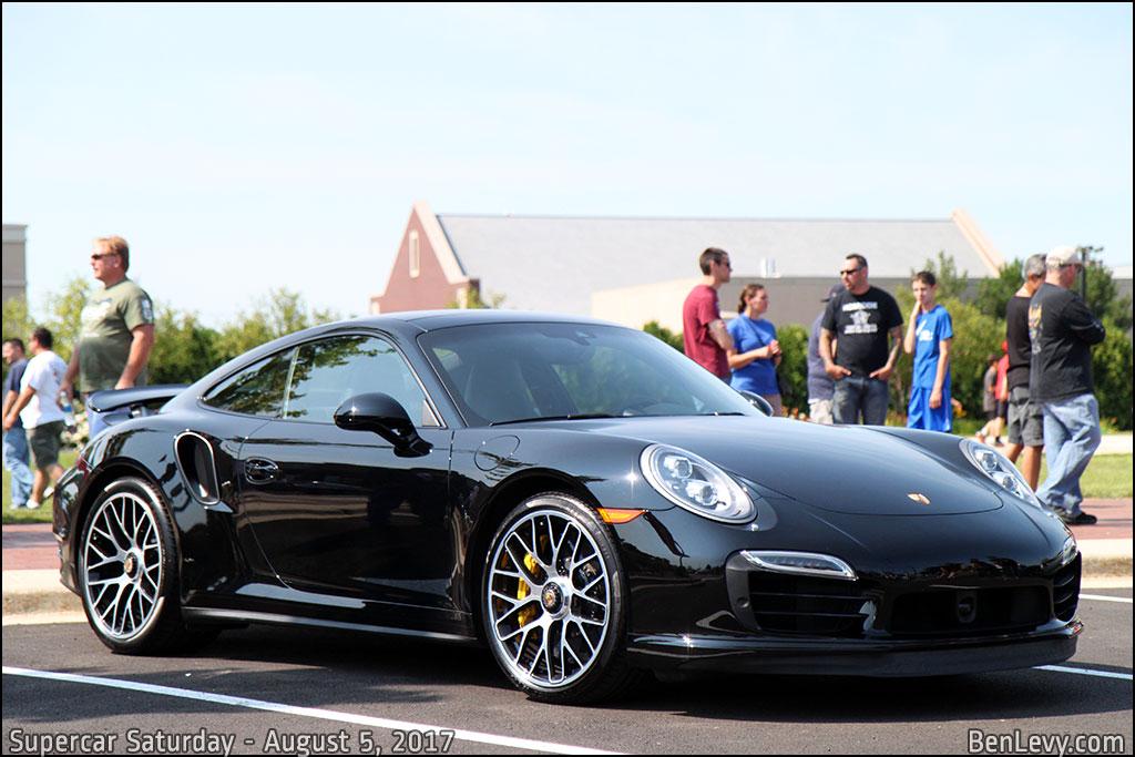 Black Porsche 911 Turbo S
