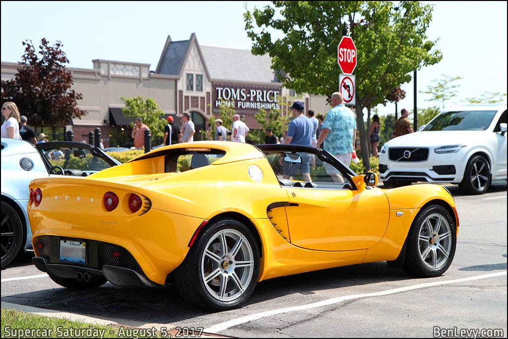 Yellow Lotus Elise
