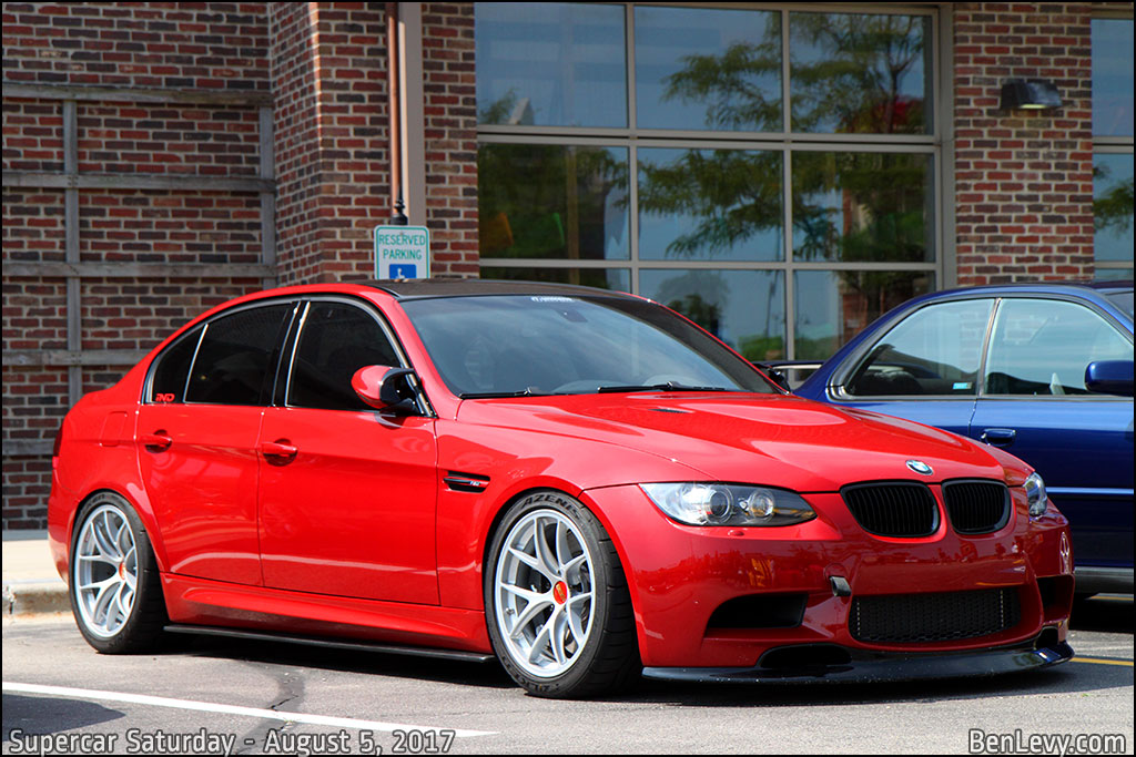 Red E90 Bmw M3 Benlevy Com