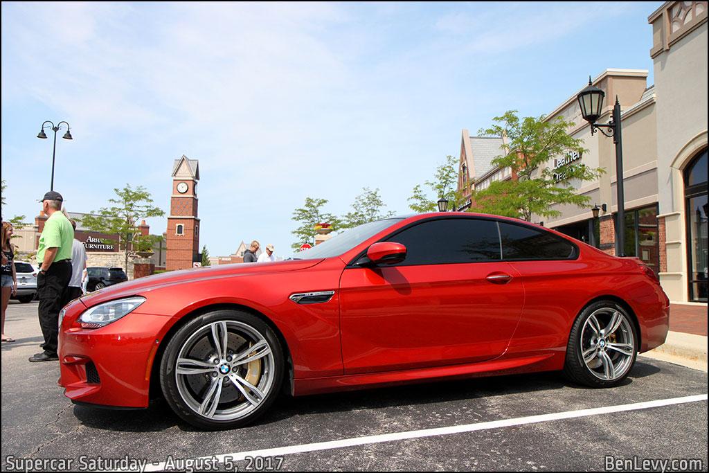 BMW M6 Coupe in Sakhir Orange Metallic