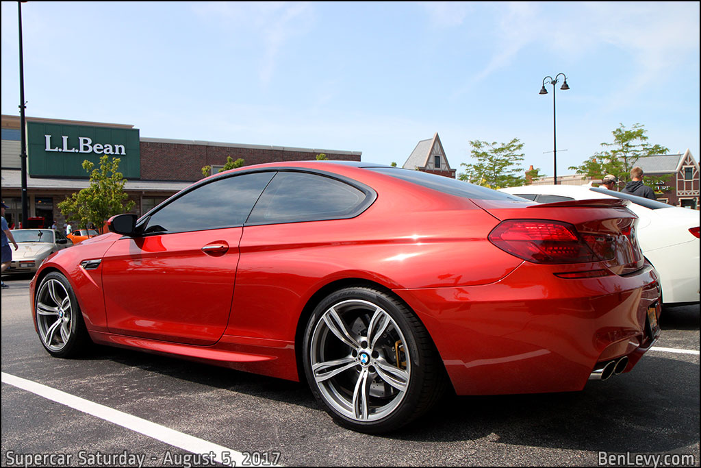 BMW M6 Coupe in Sakhir Orange Metallic