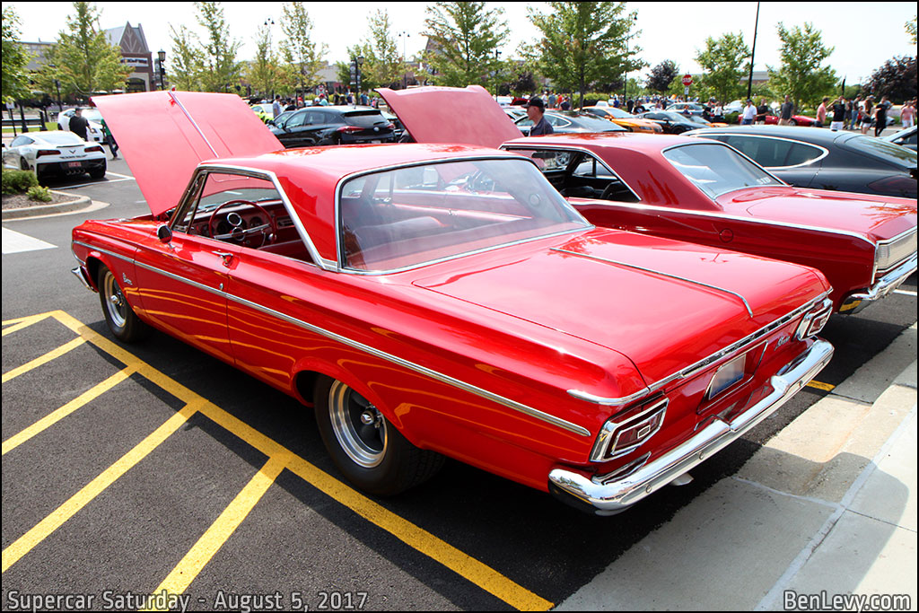 Red Plymouth Belvedere