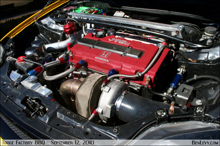 turboed honda b series engine